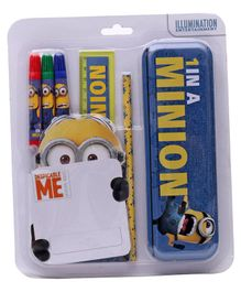 Minions Stationery Set Multicolor - Set Of 6