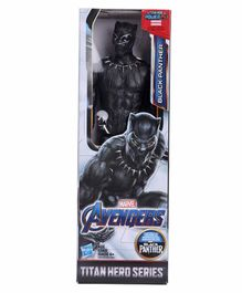 Marvel Avengers Black Panther Action Figure  Black - Height 29 cm
