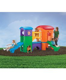 Step2 Clubhouse Climber with Slides - Multicolour