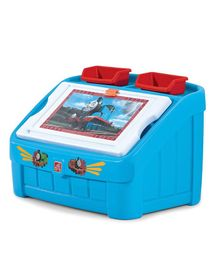Step2 Thomas The Tank Engine Toy Box and Art Lid - Blue