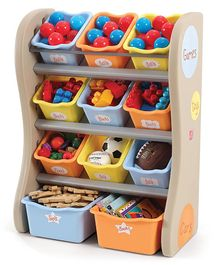 Step2 Fun Time Room Organiser - Multicolour