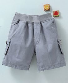 Olio Kids Pull On Shorts - Grey