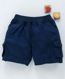Olio Kids Pull On Shorts - Blue