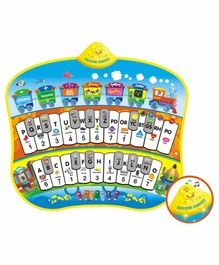 Playhood Interactive Piano Activity Mat - Multicolour