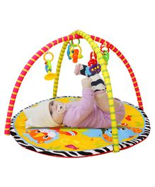 Playhood Playgym With Playmat Jungle Print - Multicolour