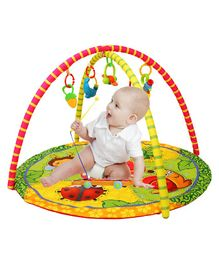 Playhood Playgym With Playmat Animal Print - Multicolour