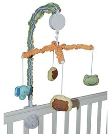 Abracadabra Musical Cot Mobile Head & Tail - Multicolor