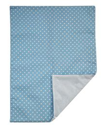 Abracadabra Changing Mat Dot Print  - Blue
