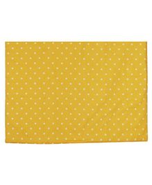 Abracadabra Diaper Changing Mat Single Polka Dots - Yellow