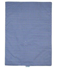 Abracadabra Checked Changing Mat - Blue