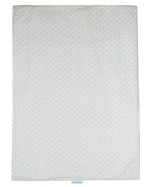 Abracadabra Polka Dotted Changing Mat - Grey