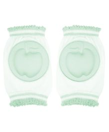 Abracadabra Knee Pads Apple Design  - Green White