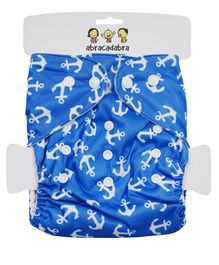 Abracadabra Reusable Diaper With Liner - Blue