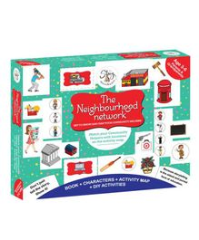 The Story Merchants DIY The Neighbourhood Activity Book - Multicolour