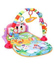 ToyMark Baby Piano Fitness Play Gym - Multicolour