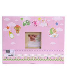 Archies Scrap Book - Pink