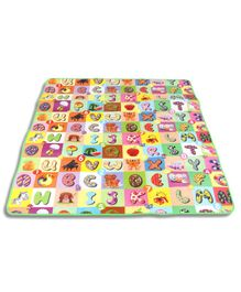 ToyMark Alphabet Print Educational Play Mat - Multicolour