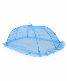Babyhug Mosquito Net Flower Design - Blue