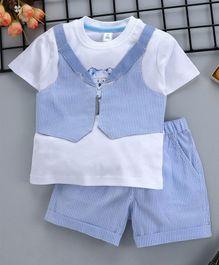 Boys' Clothing (newborn-5t) Little White Company 0-3 Months Fancy Colours