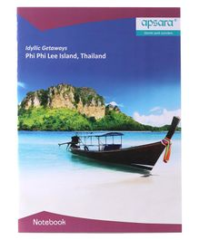 Apsara Single Line Notebook - 120 Pages
