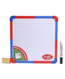 RK's Double Sided Scribble Slate - Red and Blue
