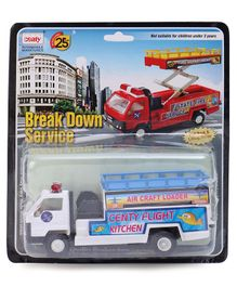 Centy Pull Back Action Service Toy Truck (Color May Vary)