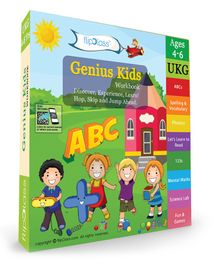 Genius Kids Workbook Pack of 8 - English