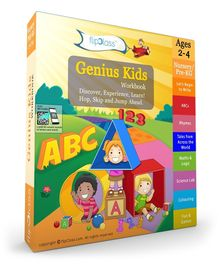 Genius Kids Workbook - English