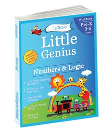 Little Genius Number & Logic Book - English