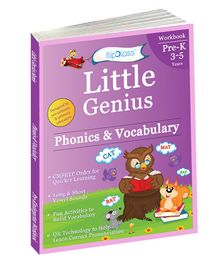 Phonics & Vocabulary Pre Kindergarten Workbook - English