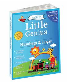Numbers & Logic Kindergarten Workbook - English