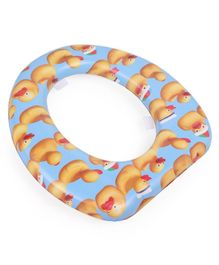 Babyhug Baby Potty Seat Duck Print - Blue