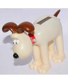 Vibgyor Vibes Bobble Head Solar Dog (Colour May Vary)