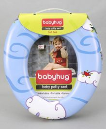 Babyhug Baby Potty Seat - Blue