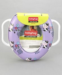 Babyhug Baby Potty Seat - Purple