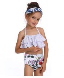 Milonee Sleeveless Top & Rose Print Bloomer Set - White