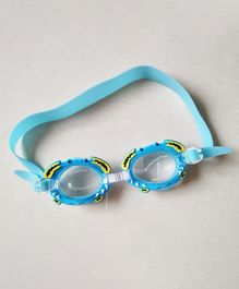 Milonee Swim Goggle With Crab Detail - Teal Blue