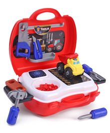 Gooyo Portable Tool Play Set of 21 Pieces - Red
