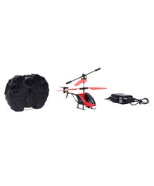 Gooyo Radio Control Helicopter With 3D Light - Red Black