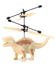 Gooyo Hand Controlled Flying Helicopter Dinosaur - Cream