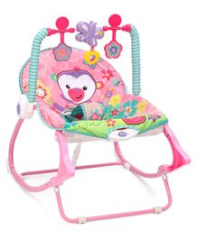 Gooyo Multifunctional Musical Bouncer Cum Rocker - Pink