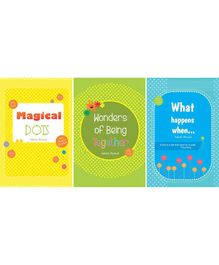 Magical Dots Wonders of Being Together And What Happens When Books Pack of 3 - English