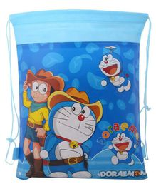 Funcart Doreamon Haversack Bag Blue - 15 Inches