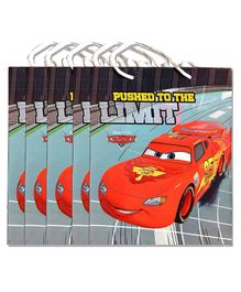 Funcart Pixar Car Paper Gift Bag Red - Pack of 5