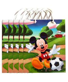 Funcart Mickey Mouse Paper Gift Bag Multicolor - Pack of 5