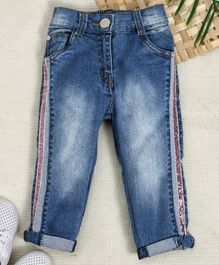 Reasonable Next Baby Jeans Brand New 3-6 Months Buy Now Bottoms