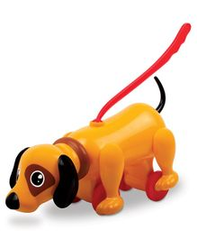Giggles Sniffy the Dog Orange - Length 32.5 cm