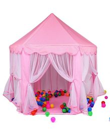 Toyshine Big Princes Castle Tent House - Pink