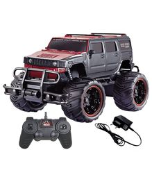 Toyshine Off Road Hummer Monster Racing Car With Remote Control - Red Black