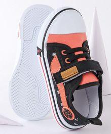 Cute Walk By Babyhug Casual Canvas Shoes - Orange